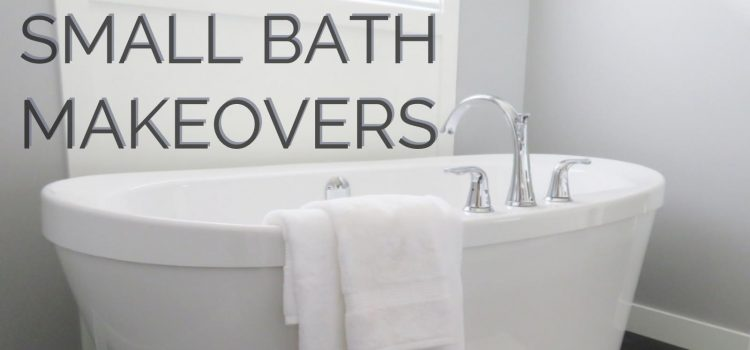 Tips from a designer who specializes in small baths